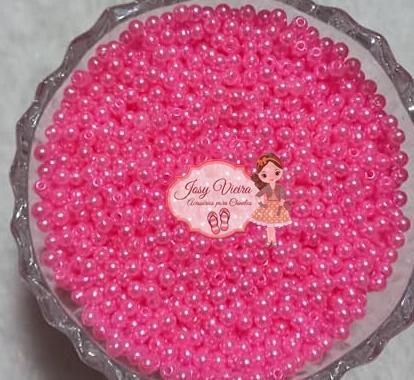T4 Pérola ABS Tam 4 cor Rosa Seco 100g