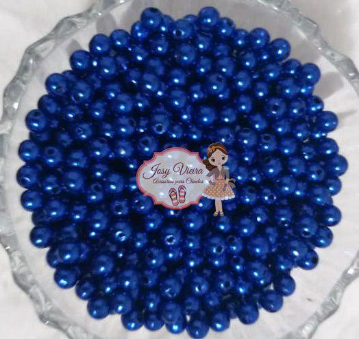 T6 Pérola ABS Tamanho 6 Cor Azul Escuro 500g