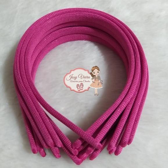 Tiara 10mm Pink (1 unidade)