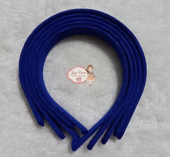 Tiara Azul escuro 30mm  (Unidade)