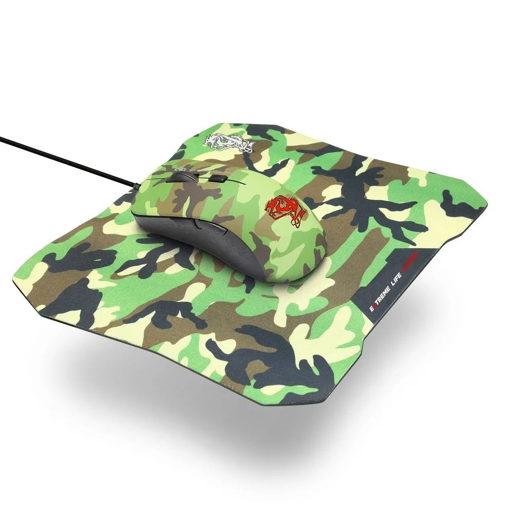 COMBO 2 EM 1 MOUSE 6 BOTÕES 3.200DPI MOUSE PAD 3MM ARMYT CGMMAY
