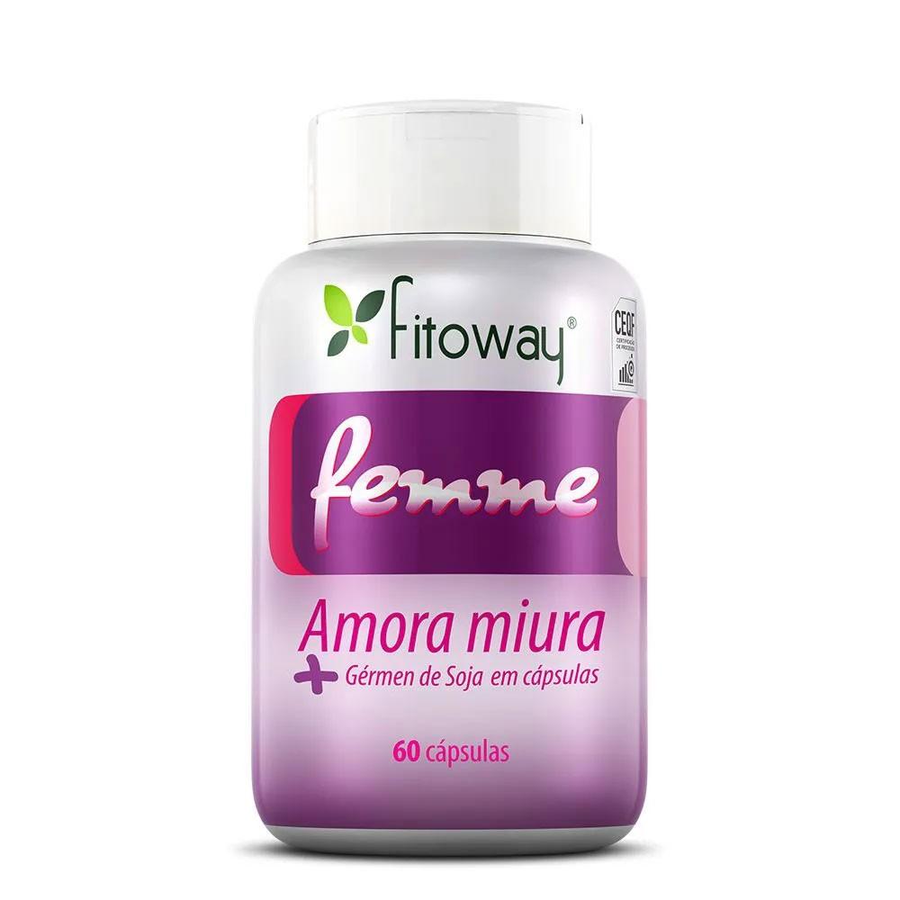 FEMME FITOWAY - AMORA MIURA - 60 CAPS