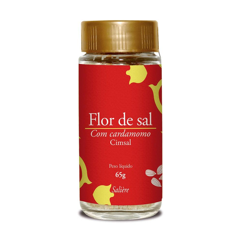 FLOR DE SAL CIMSAL SALIERE CARDAMOMO 65G