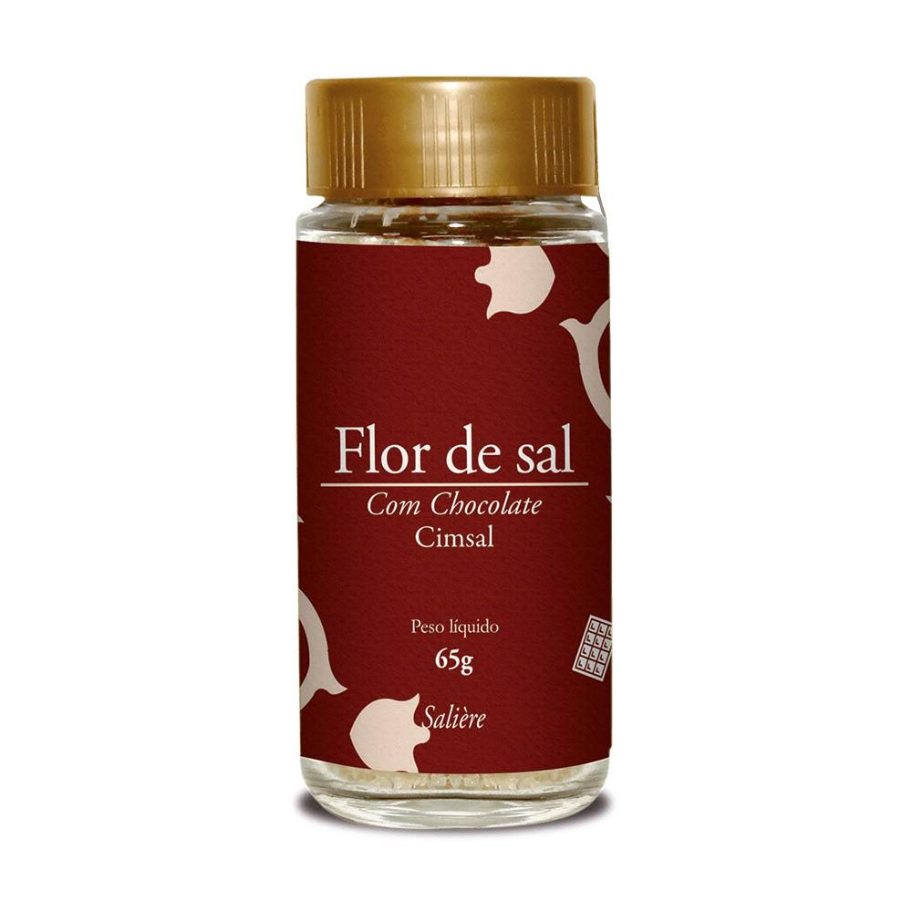 FLOR DE SAL CIMSAL SALIERE CHOCOLATE 65G