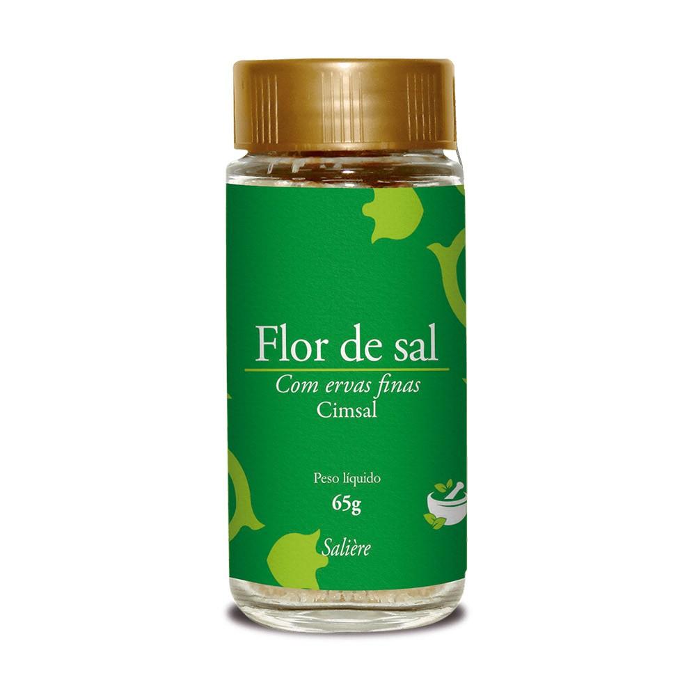 FLOR DE SAL CIMSAL SALIERE ERVAS FINAS 65G