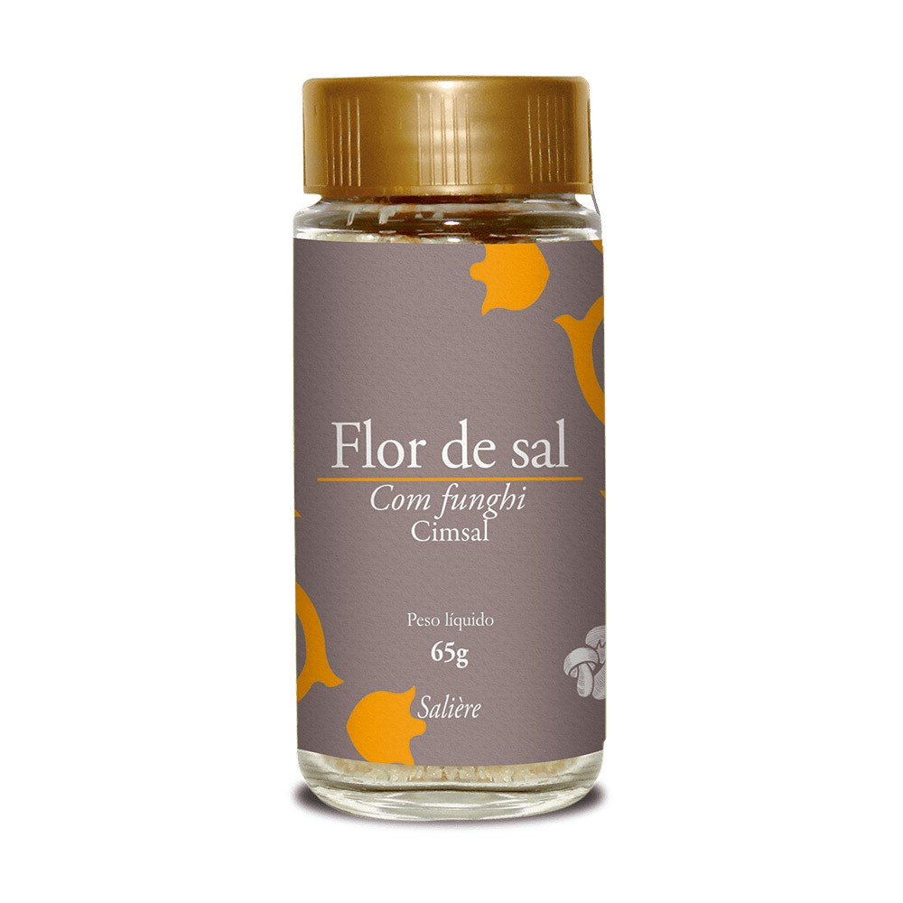 FLOR DE SAL CIMSAL SALIERE FUNGHI 65G