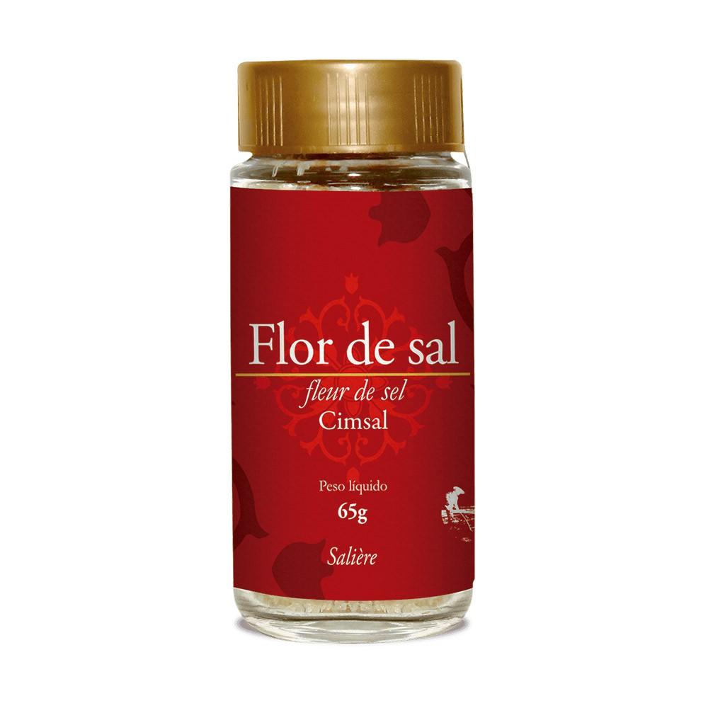 FLOR DE SAL CIMSAL SALIERE TRADICIONAL 65G
