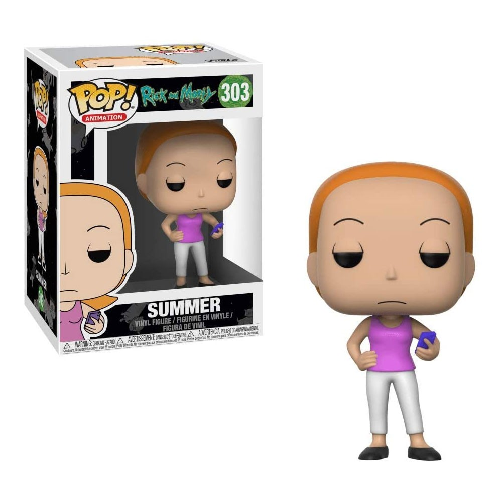 FUNKO POP SUMMER - RICK AND MORTY