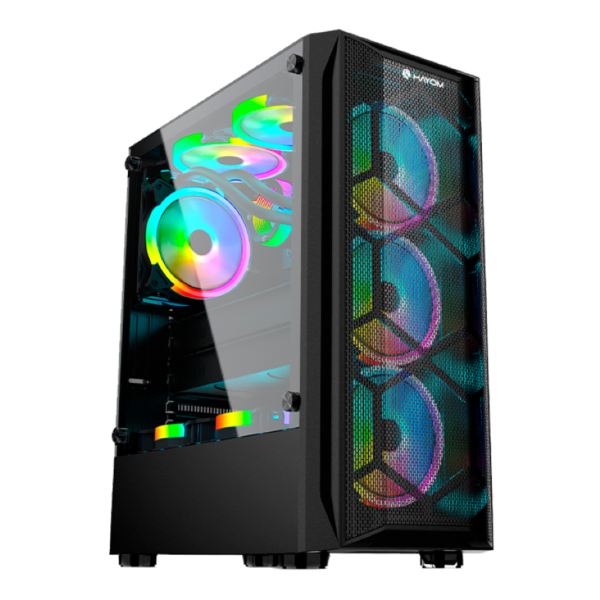 GABINETE HAYOM GB1706 GAMER COM COOLER RGB