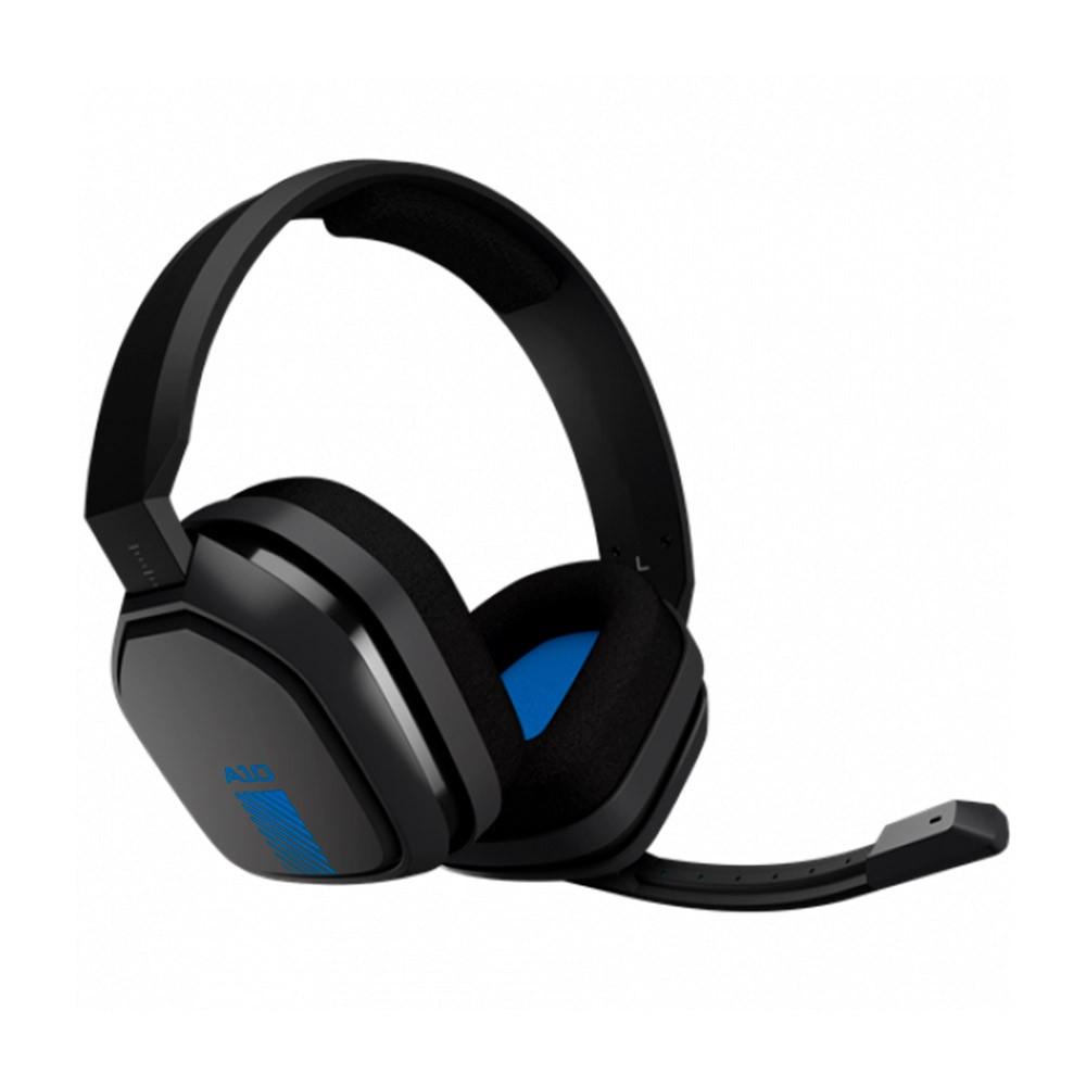 Headset Astro A10 PS4 - Cinza/Azul - 939-001838
