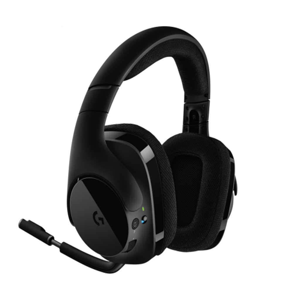 Headset Gamer Logitech G533 Wireless Preto - 981-000633