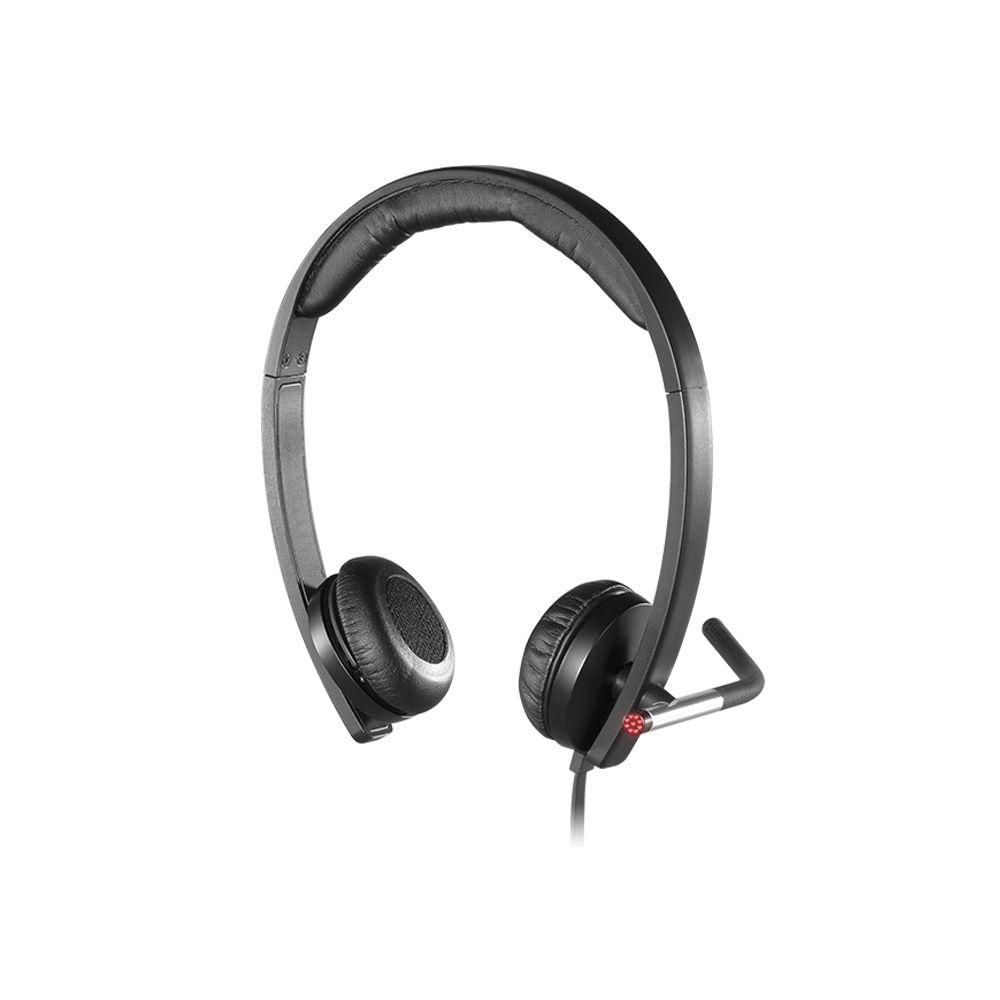 Headset Logitech H650e Stereo USB
