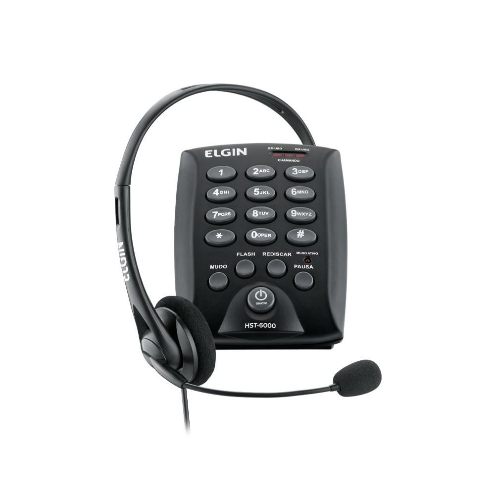 HEADSET PARA TELEFONISTA COM BASE DISCADORA