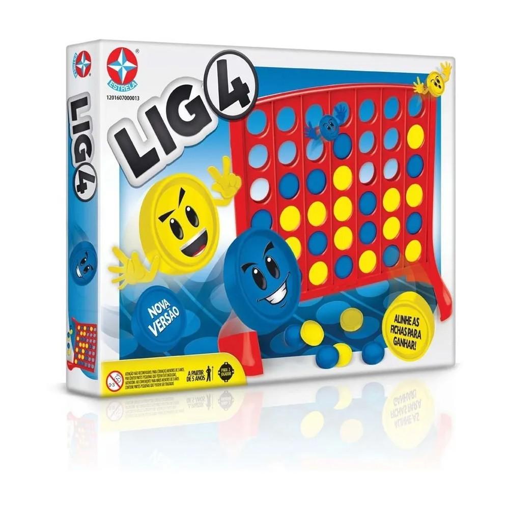 Jogo Raciocínio Lig 4 Original - Estrela