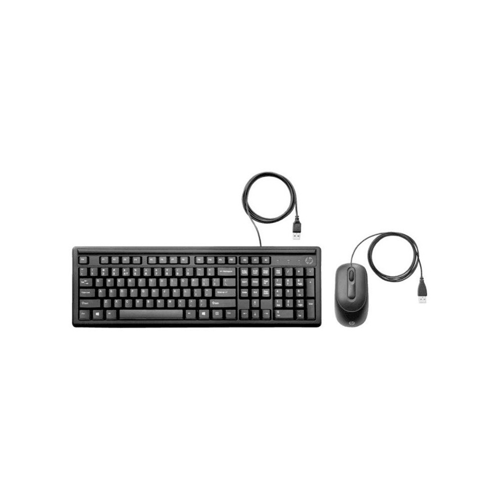 KIT TECLADO MOUSE HPCM USB 160 6HD76AA#AC4