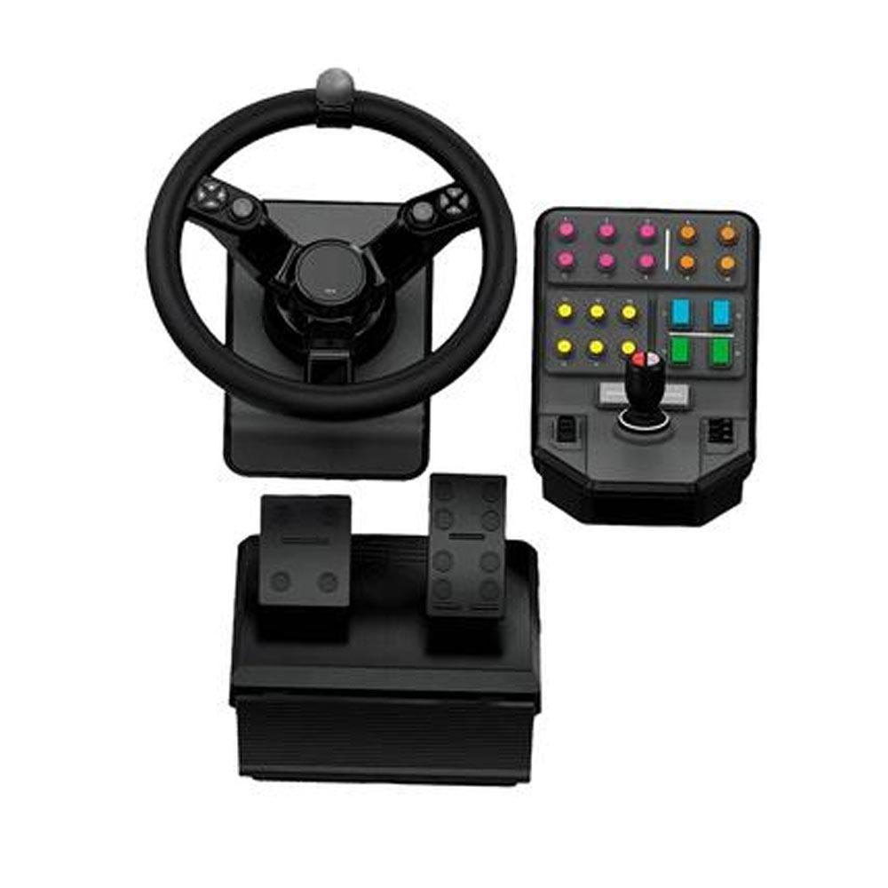 Equipamento Simulador de Trator Logitech G Heavy Equipment Bundle