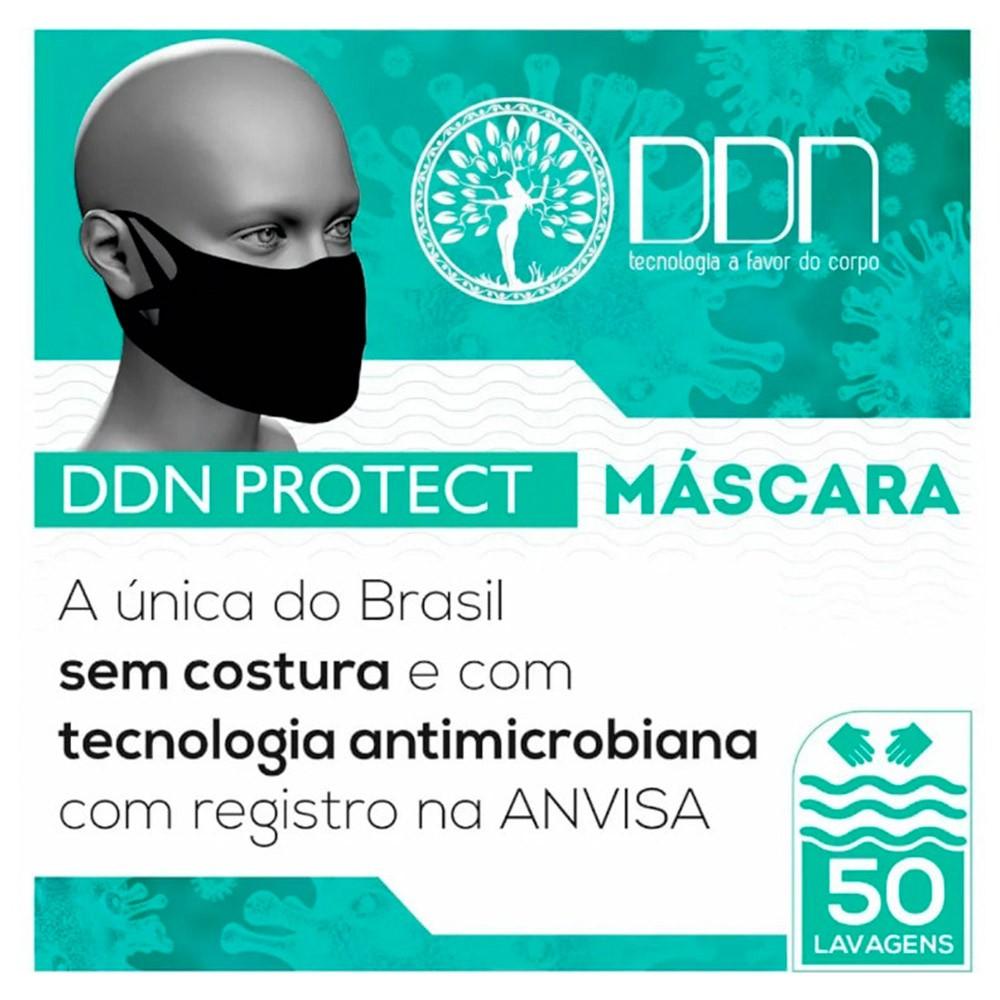 MÁSCARA LAVÁVEL SEM COSTURA DDN PROTECT 100 UNIDADES
