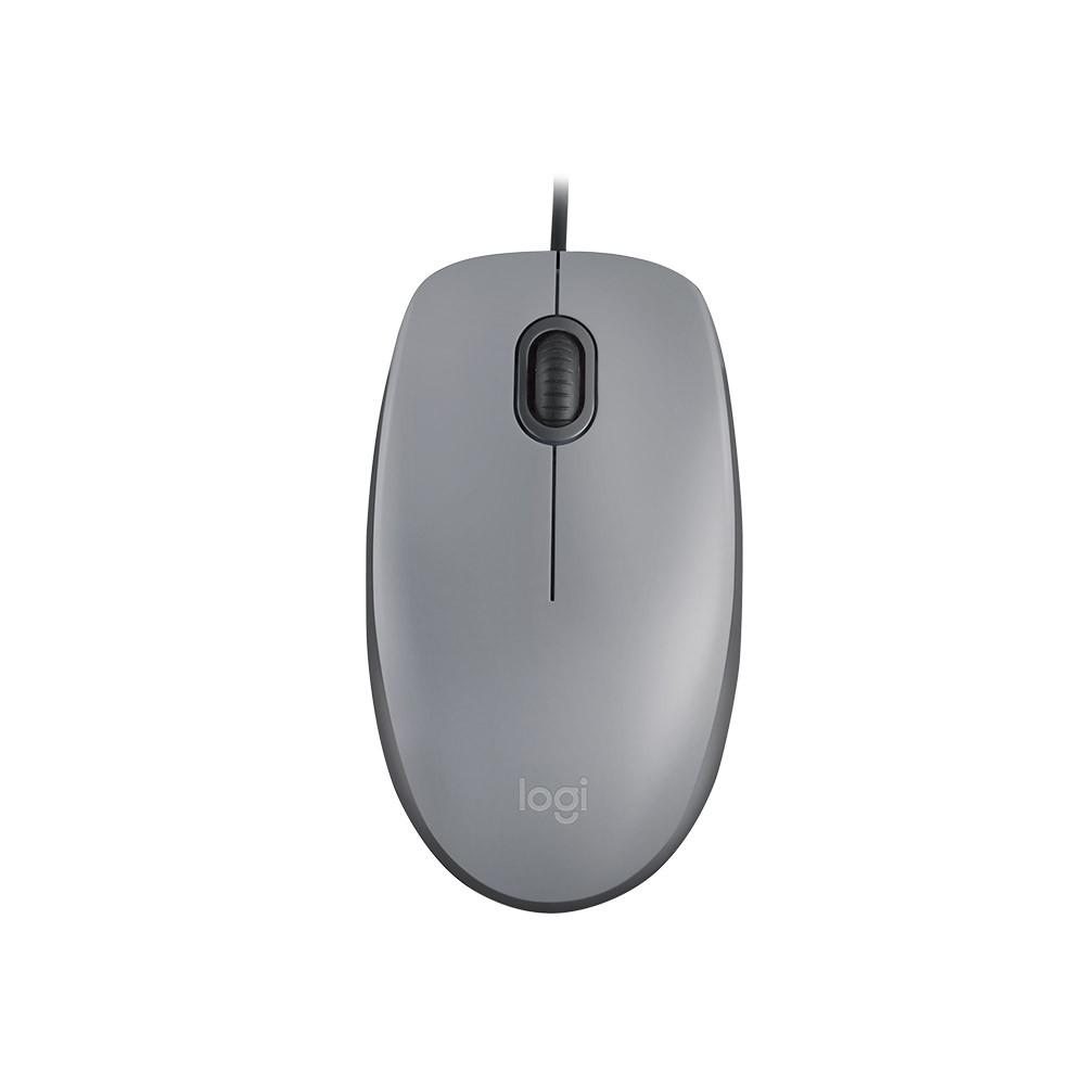 Mouse Logitech M110 USB Cinza  910-005494