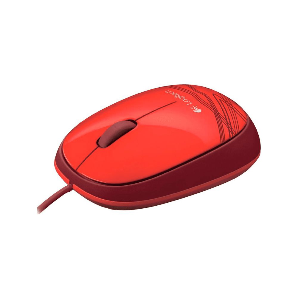 MOUSE LOGITECH USB M105  - VERMELHO