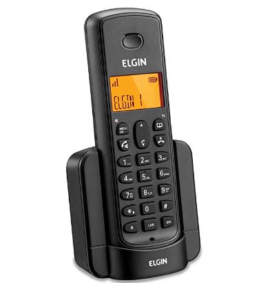 RAMAL DE EXPANSÃO PARA TELEFONE TSF 8000R SEM FIO PRETO
