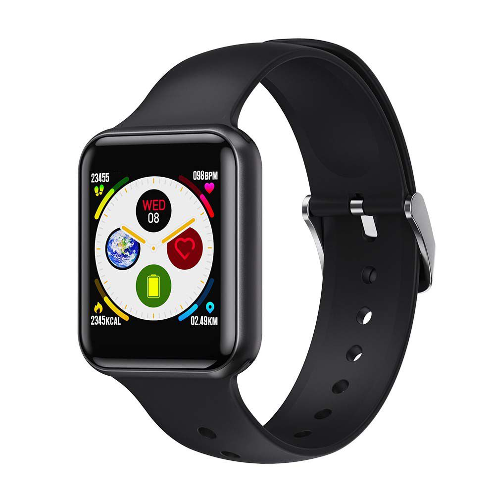 SMARTWATCH LEMONDA SN72 FULL TOUCH SCREEN - PRETO