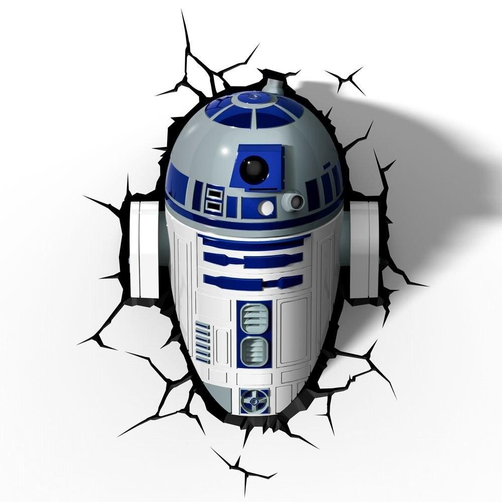 STAR WARS - LUMINÁRIA R2-D2