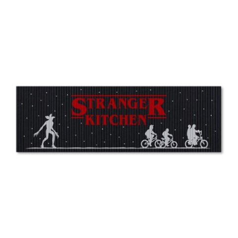 Tapete de Cozinha 1,25x0,40cm - Stranger Kitchen