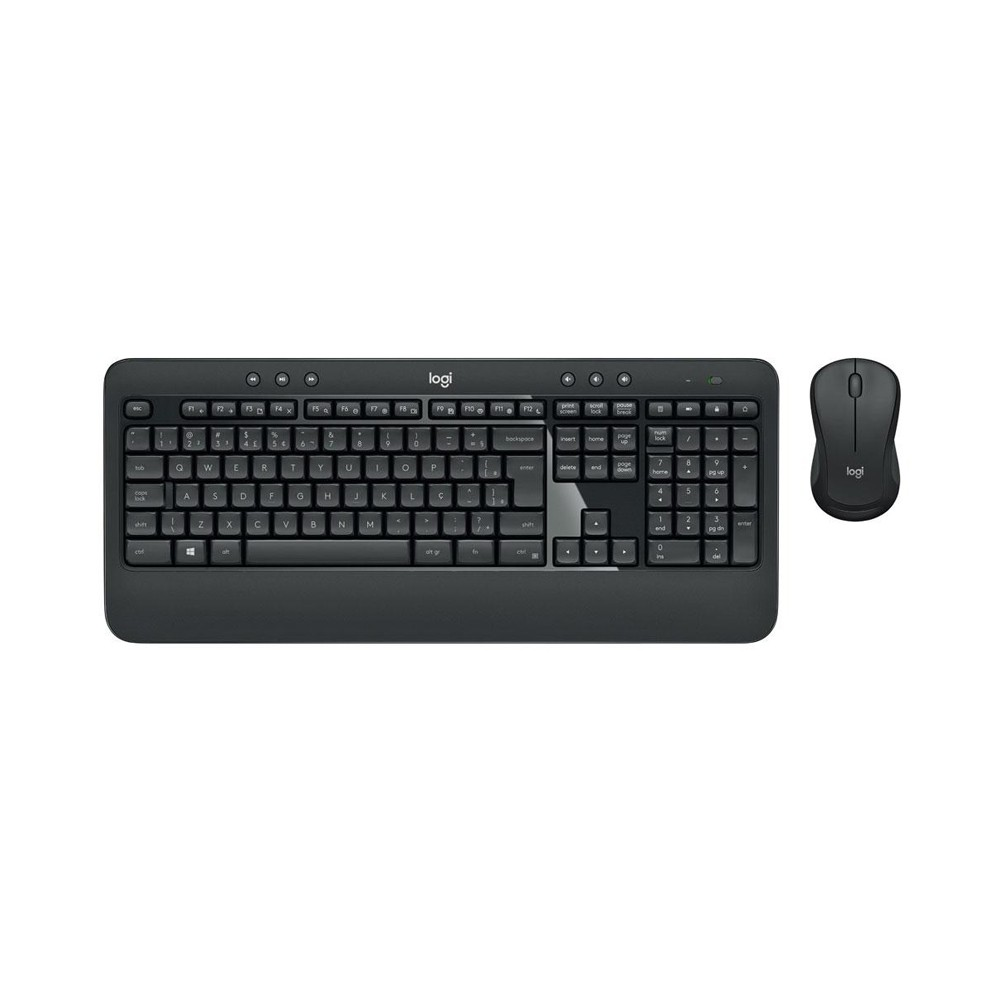 TECLADO + MOUSE LOGITECH MK540 WIRELESS PRETO - 920-008674