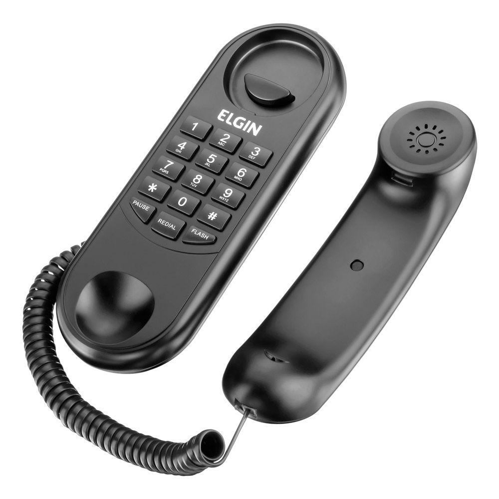 TELEFONE COM FIO MODELO GÔNDOLA TCF 1000 ELGIN