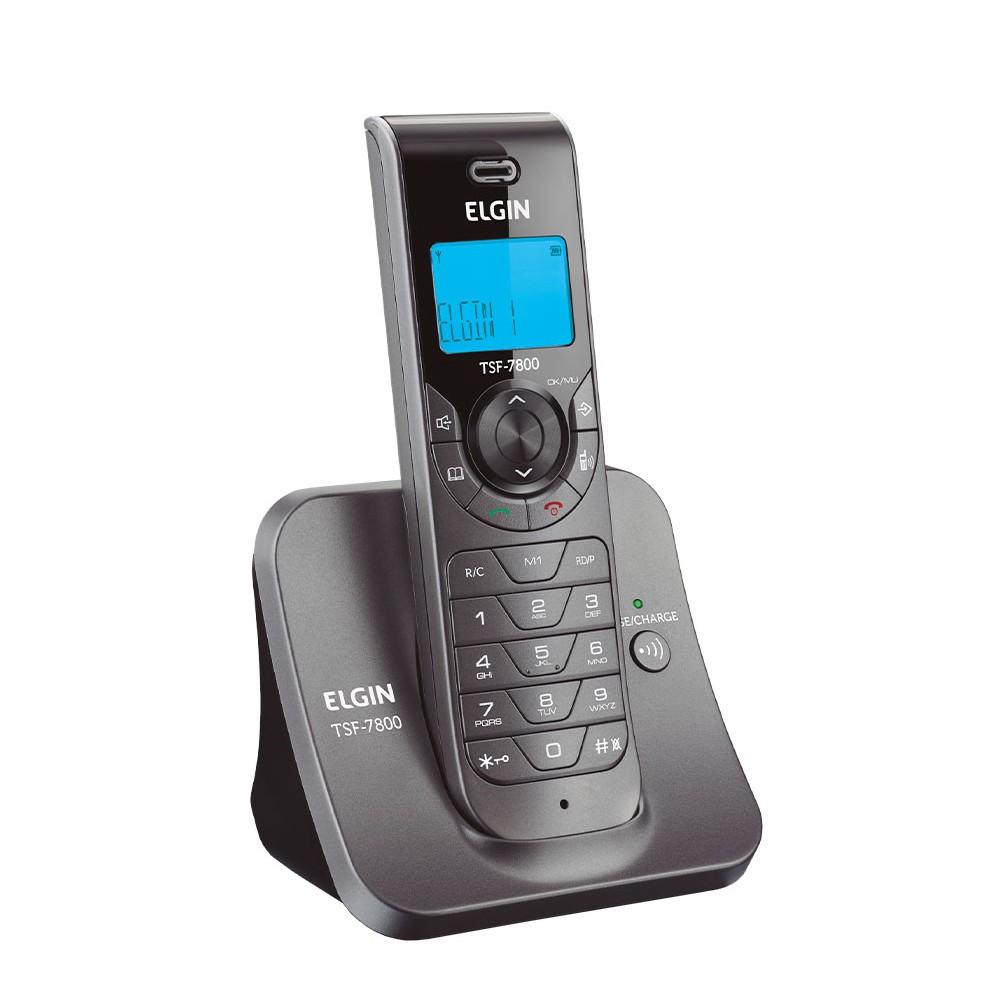 TELEFONE S/FIO IDENTIFICADOR DE CHADAS VIVA VOZ TSF7800