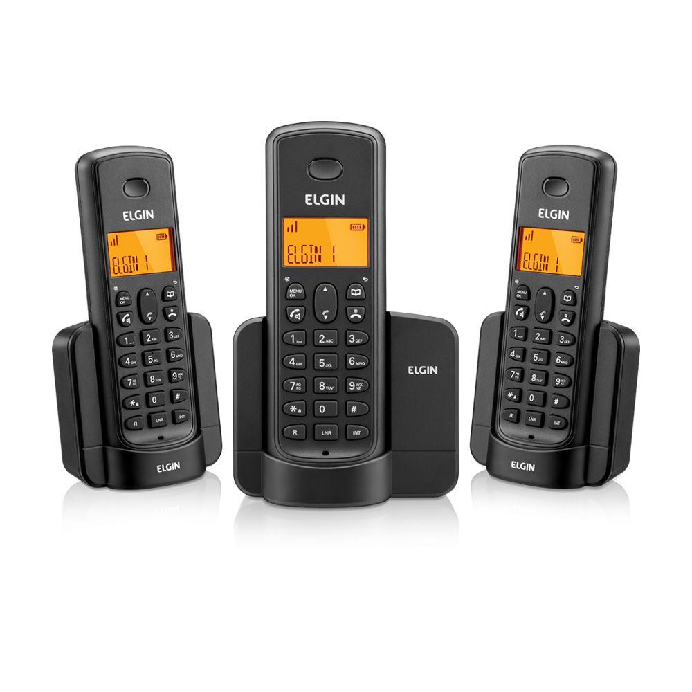 TELEFONE SEM FIO 2 RAMAIS ID DE CHAMADA E VIVA VOZ 1.9GHZ