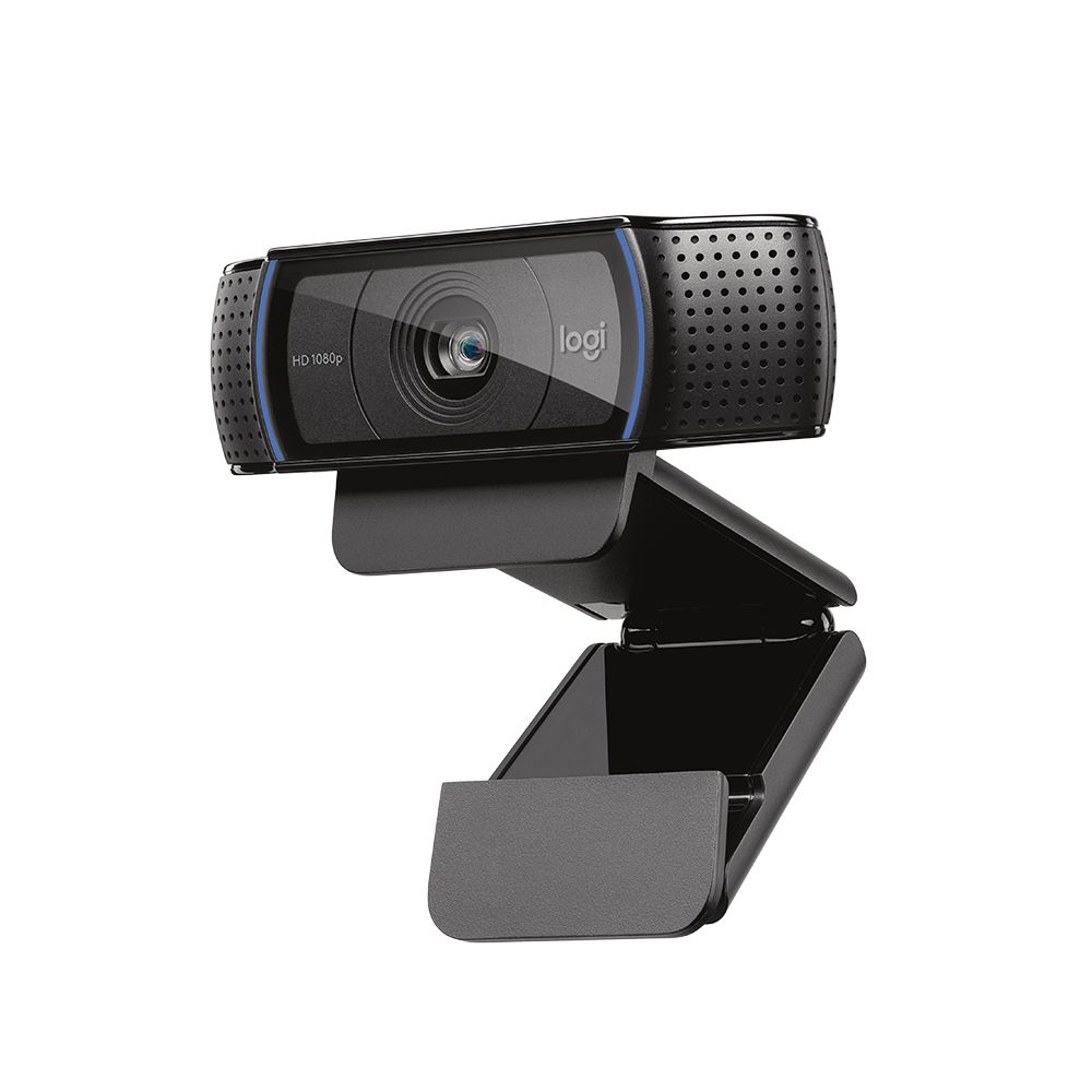 WEBCAM C920 FULL HD 1080P PRETA - 960-000764 - V.C LOGITECH