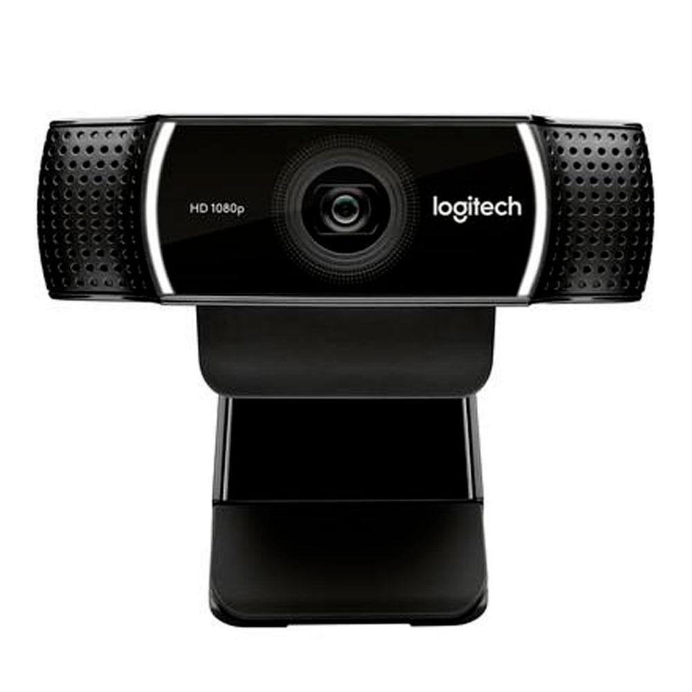 WEBCAM LOGITECH C922 FULL HD 1080P PRETA - 960-001087