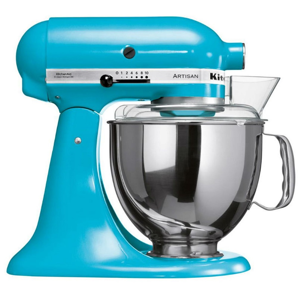 Batedeira Planetária Kitchenaid Stand Mixer 4,8L Crystal Blue 127V