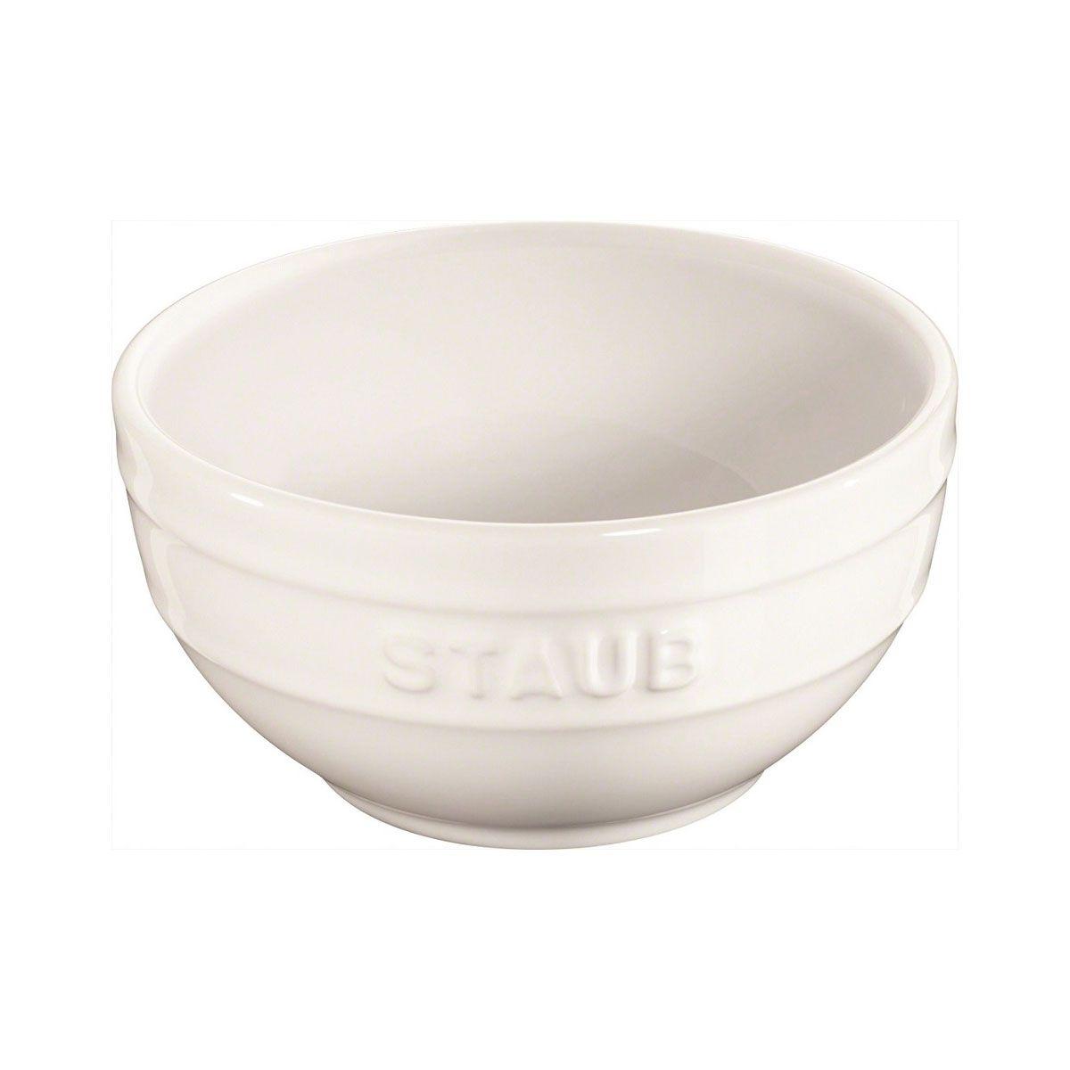 Bowl Em Cerâmica Staub 12 cm Branco