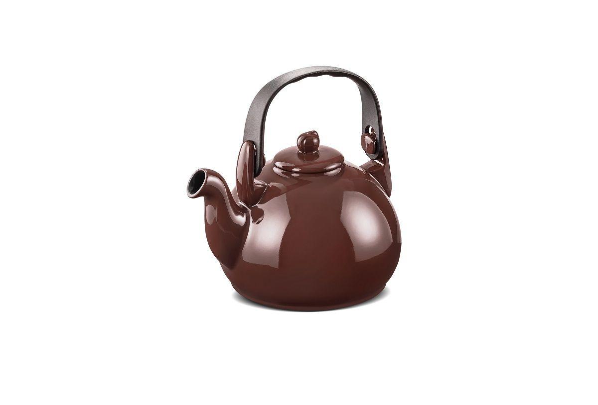Chaleira De Cerâmica Ceraflame Colonial Chocolate 1,7Litros