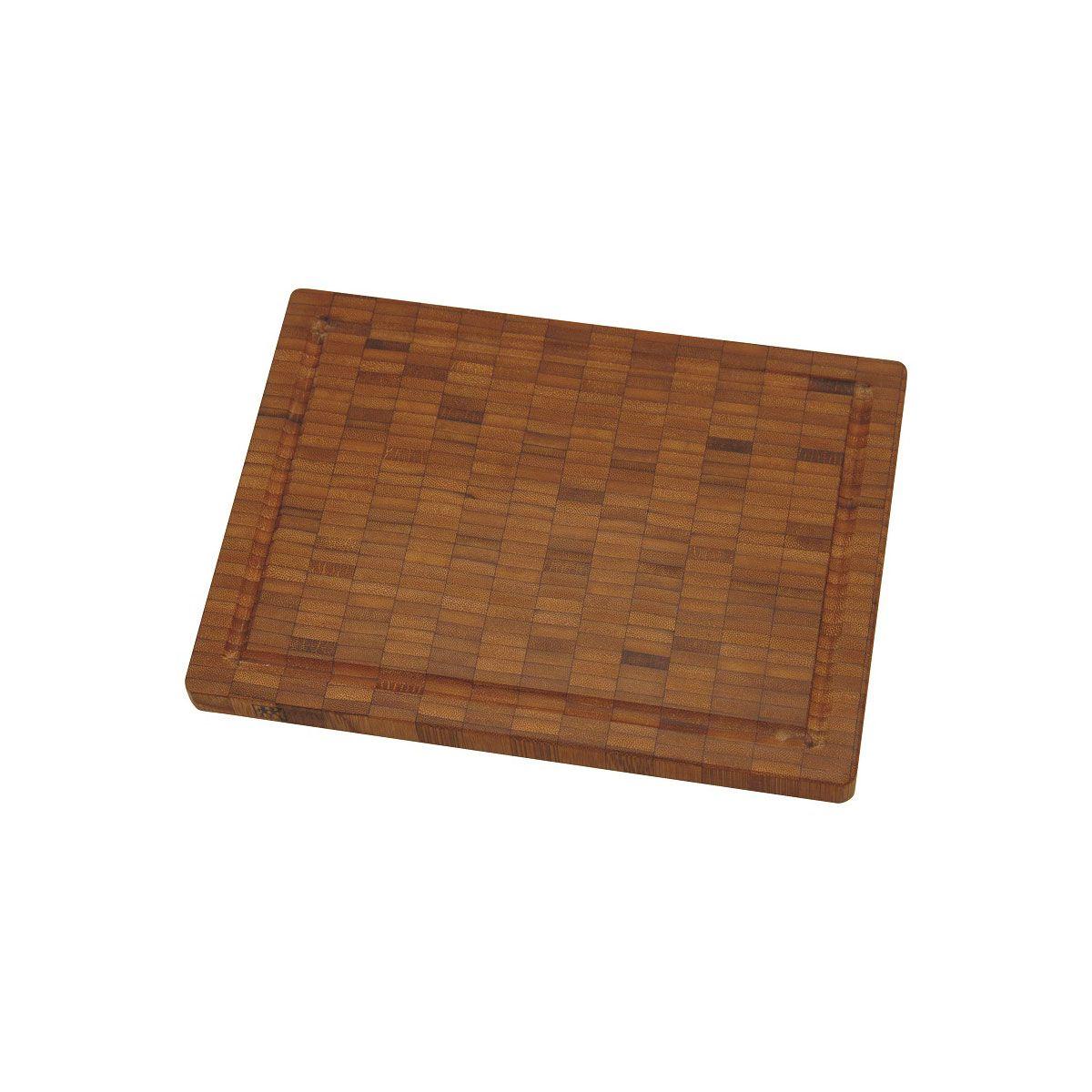 Tabua Para Cortar Em Bamboo Zwilling Pequena 25x2x18,5cm