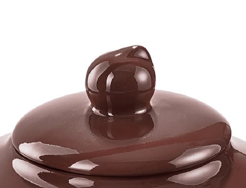 Tampa Para Chaleira Colonial De Cerâmica Ceraflame Chocolate