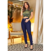 Calça Jeans Premium Básica Escura 02