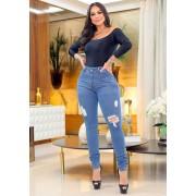 Calça Jeans Premium Destroyed 01