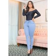Calça Jeans Premium Modelador Básica 01 - Empina Bumbum
