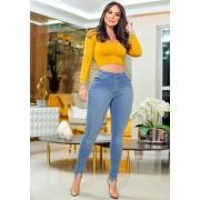 Calça Jeans Premium Modelador Básica 02 - Empina Bumbum