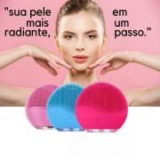 Escova Massageadora de Limpeza Facial Profunda