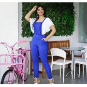 Jardineira Bengaline Azul