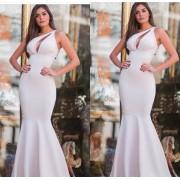 Vestido Longo Sereia Branco