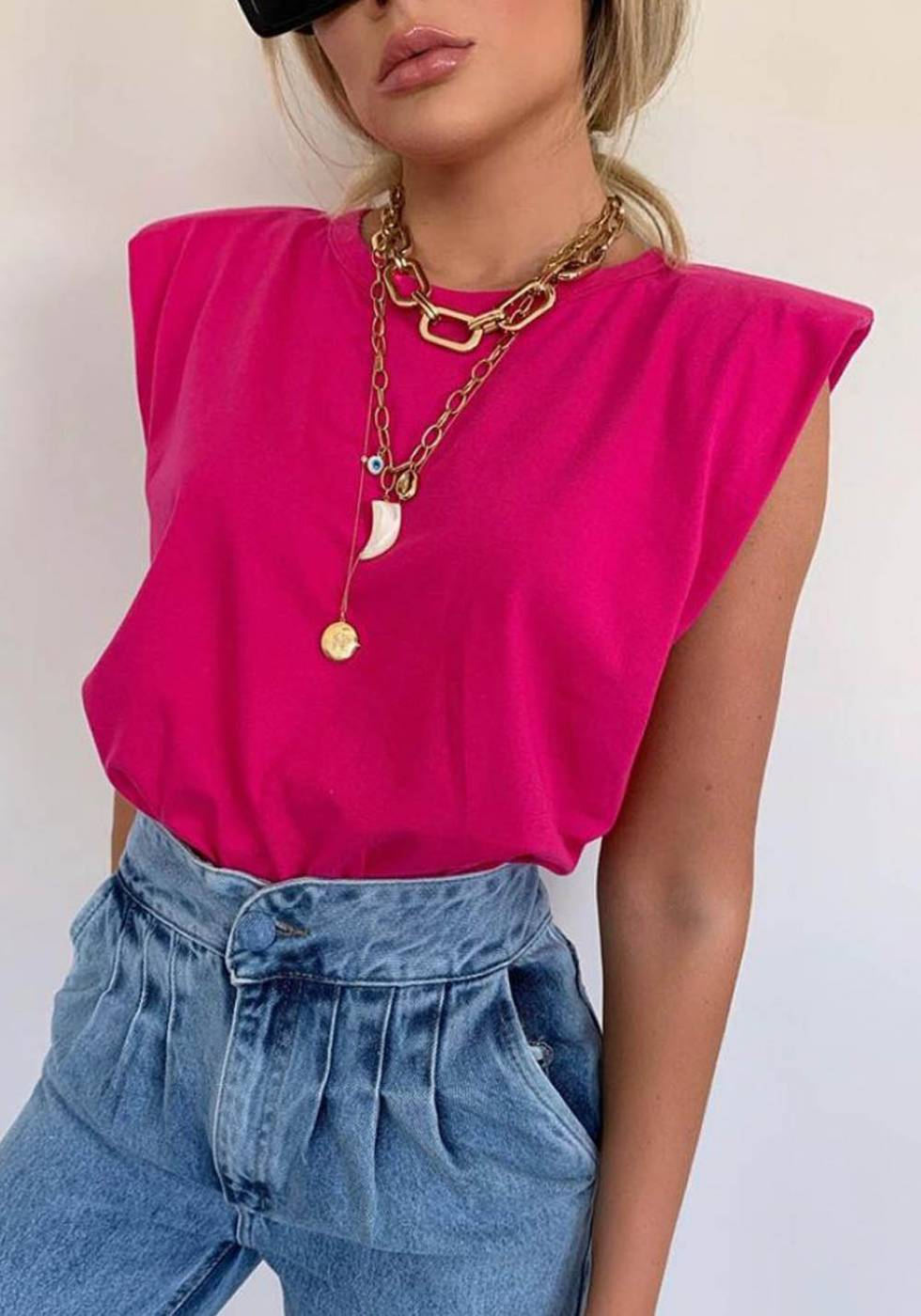 Blusa Muscle Tee Pink