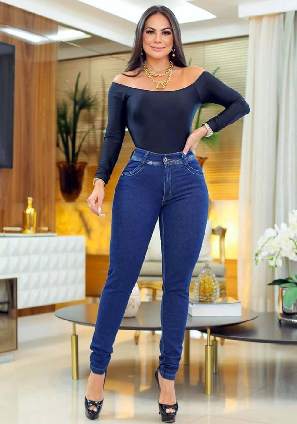 Calça Jeans Premium Básica