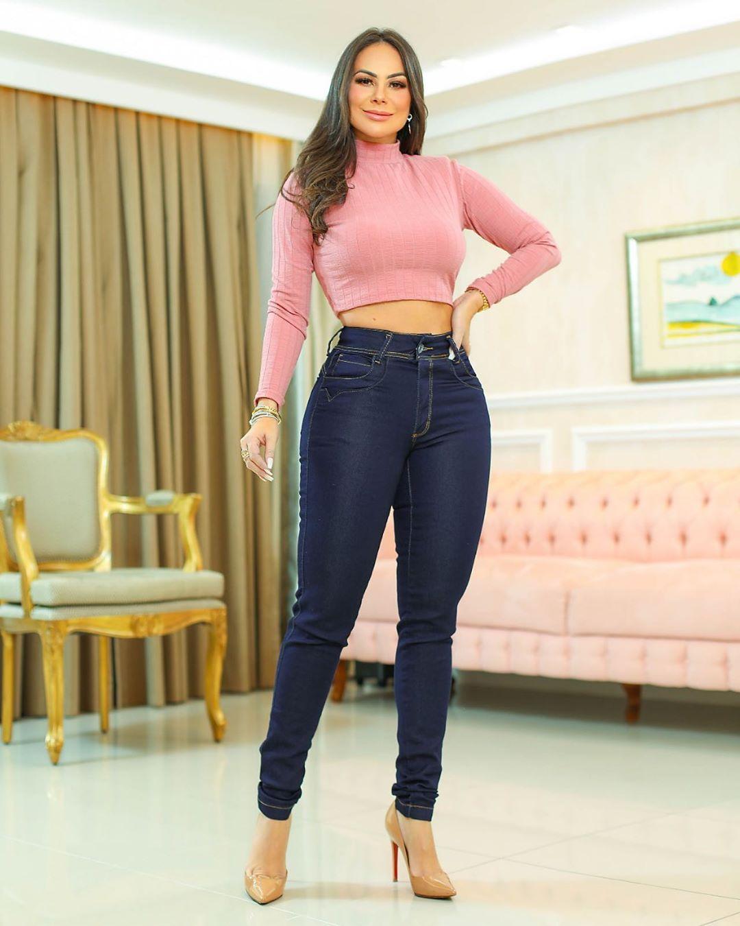 Calça Jeans Premium Básica Escura