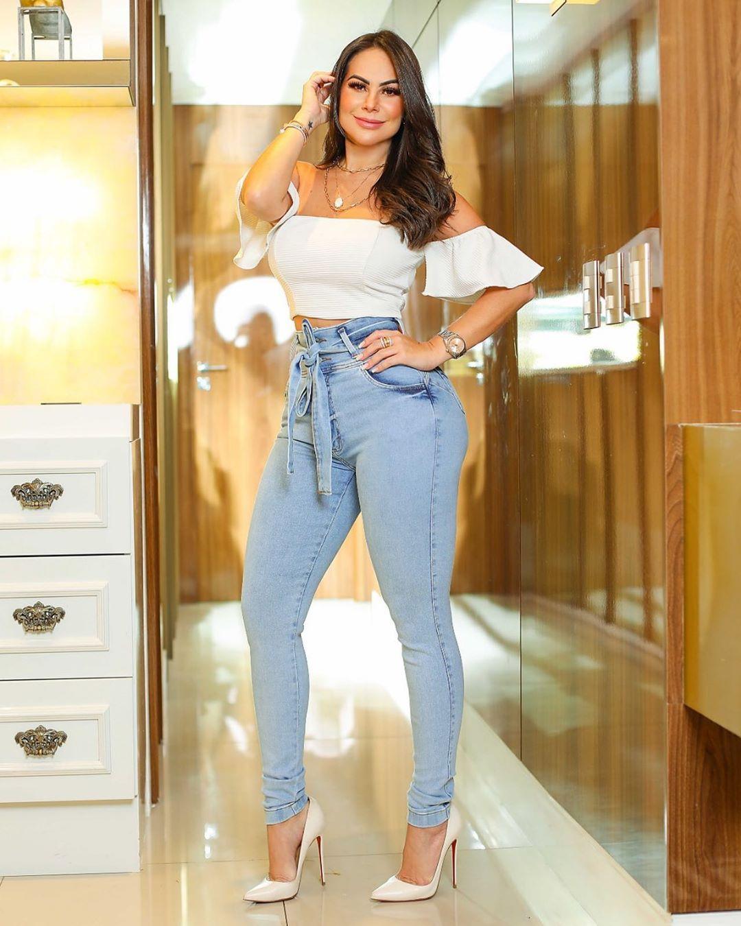 Calça Jeans Premium Modelador 01 - Empina Bumbum