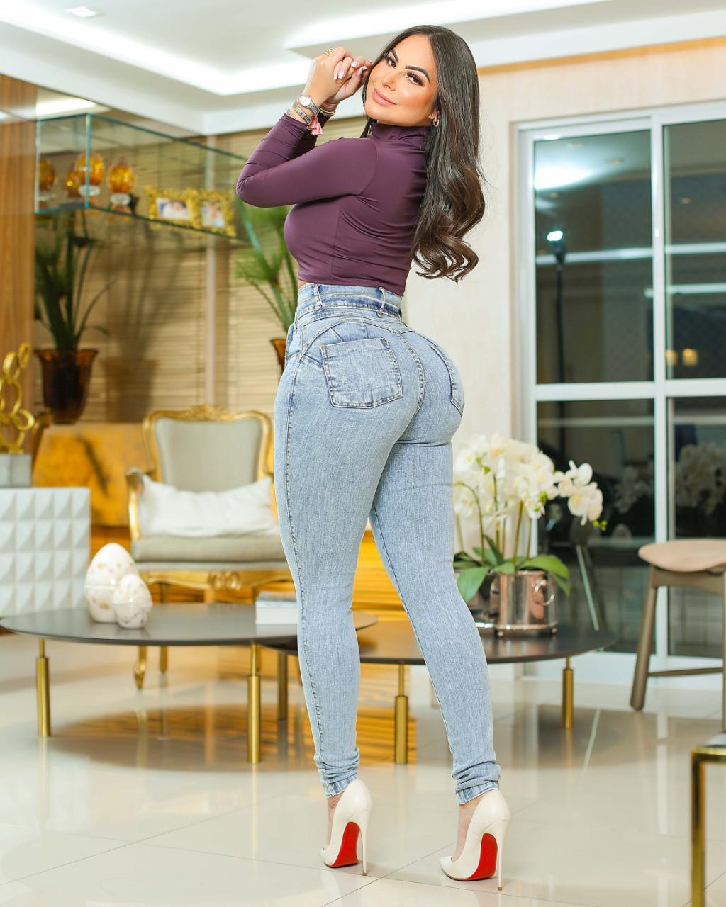 Calça Jeans Premium Modelador 02 - Empina Bumbum